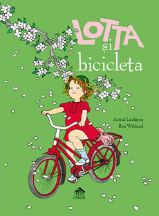 Lotta și bicicleta - coperta