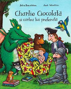 Charlie Ciocolată și cartea lui preferată - coperta