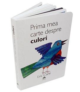 Prima mea carte despre culori - coperta