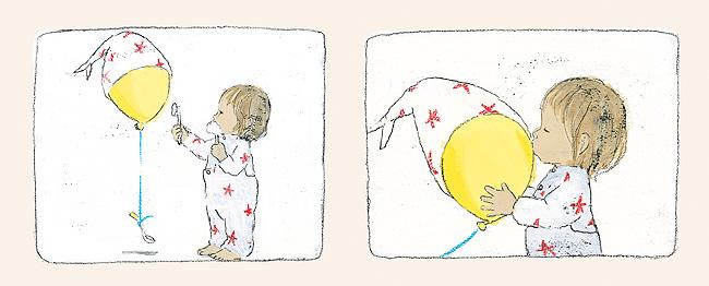 Komako Sakai - Fetita si balonul