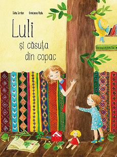 Luli și căsuța din copac - coperta