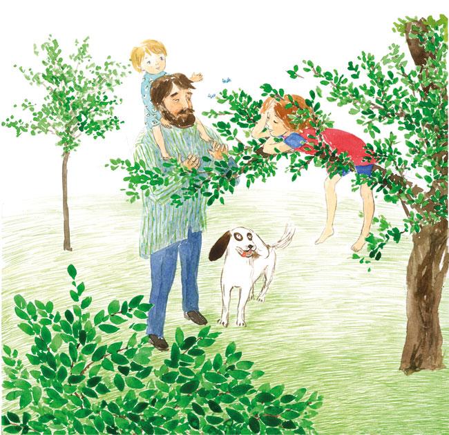 Luli si casuta din copac
