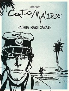 Corto Maltese 1. Balada mării sărate - coperta