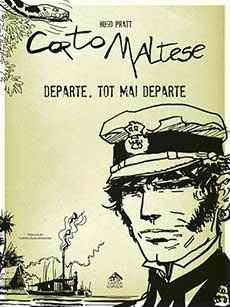 Corto Maltese 3. Departe, tot mai departe - coperta