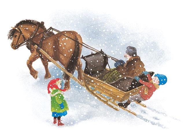 Uite, Madicken, ninge! de Astrid Lindgren, ilustratie de Ilon Wikland