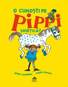 O cunoști pe Pippi Șosețica? - coperta