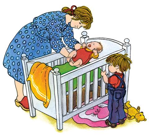 Vreau un frate sau o sora, de Astrid Lindgren, ilustratie de Ilon Wikland