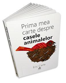 Prima mea carte despre casele animalelor - coperta