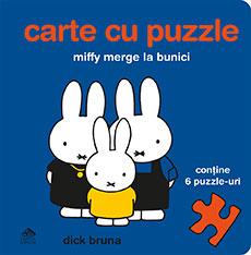 Miffy merge la bunici. Carte cu puzzle - coperta