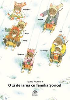 O zi de iarnă cu familia Șoricel - coperta